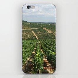 Chablis Vineyard iPhone Skin