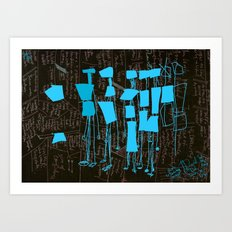 Share the knowledge to preserve it. Art Print