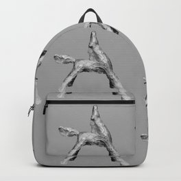 Exuberant Colts (bw) Backpack