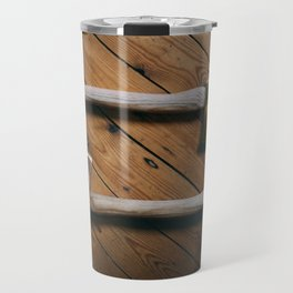 Gold and Copper Axes Travel Mug