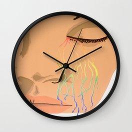 Chromatic Lamentations Wall Clock
