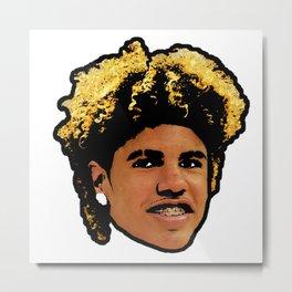LaMelo Ball Face art Metal Print