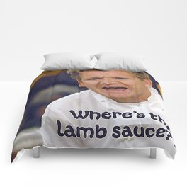 Where's the Lamb Sauce? Comforters