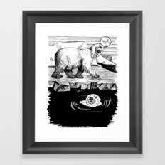 And the Otter Loved the Bear Framed Art Print