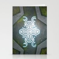 shadow of the colossus Stationery Cards featuring Shadow Of The Colossus by KeenaKorn