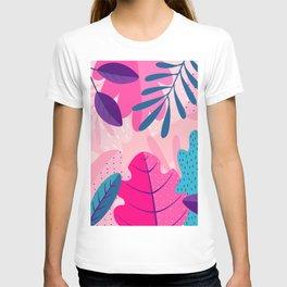 Vivid Tropical Foliage  T-shirt