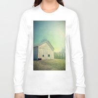 country Long Sleeve T-shirts featuring Country Morning by Olivia Joy StClaire