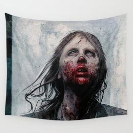 The Lone Wandering Walker - The Walking Dead Wall Tapestry