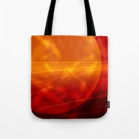 mars Tote Bags featuring Mars by renajoy