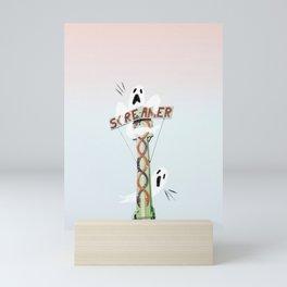 The Screamer! Mini Art Print