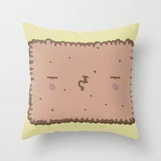 Petit Beurre #7 Throw Pillow