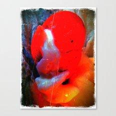Sad Red Clown Canvas Print