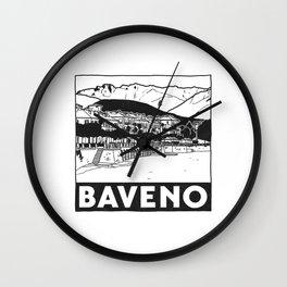 Baveno, Lago Maggiore, Italy Wall Clock