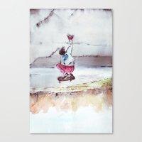 skate Canvas Prints featuring Skate by Nuez Rubí