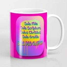 Five Solas Coffee Mug
