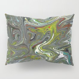 Abstract Oil Painting 15 Pillow Sham