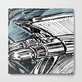 CADILLAC TAIL FIN Metal Print
