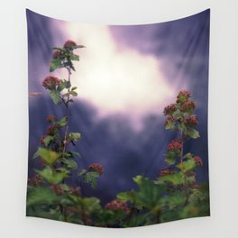 Falls and Flowers Wall Tapestry