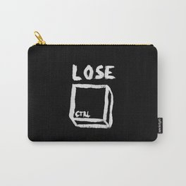 LOSE CTRL. | BLACK EDITION Carry-All Pouch
