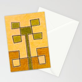Protoglifo 08 Green sprout Stationery Cards