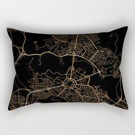 Canberra map, Australia Rectangular Pillow