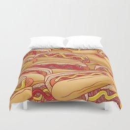 Hotdogs Duvet Cover