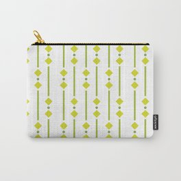 geometric design green rhombuses Carry-All Pouch