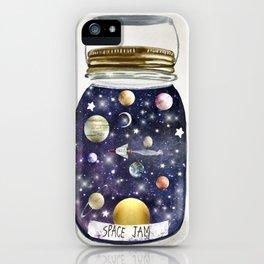 space jam jar iPhone Case