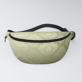 """Olive Damask Pattern"" Fanny Pack"