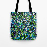 sprinkles Tote Bags featuring Sprinkles by Jessica Torres Photography