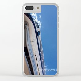 Monorail at Epcot Clear iPhone Case