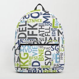Airport Codes Backpack