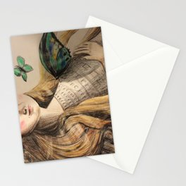 Beatriz by Dreaming of elephants Stationery Cards