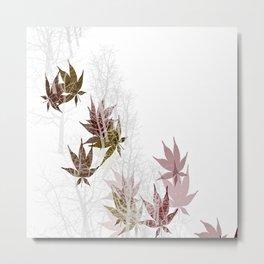 Leaves and Trees Metal Print
