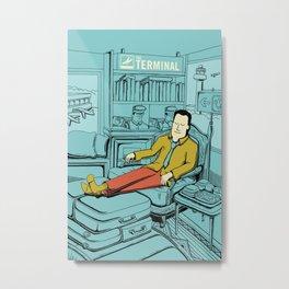Movies we like - The Terminal Metal Print