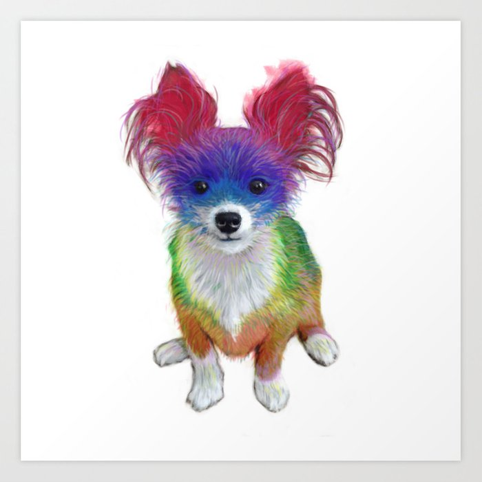 Small Dog Art Print