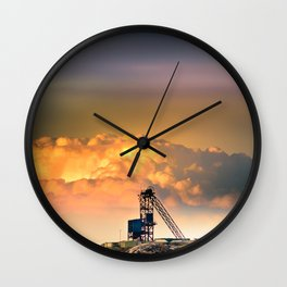 Old Copper Mine on Anglesey Wall Clock