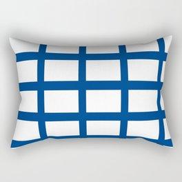 Flag of Finland 2 -finnish, Suomi, Sami,Finn,Helsinki,Tampere Rectangular Pillow
