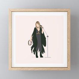 Stevie Framed Mini Art Print