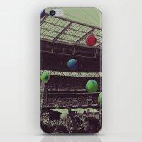 coldplay iPhone & iPod Skins featuring Coldplay at Wembley by Efua Boakye