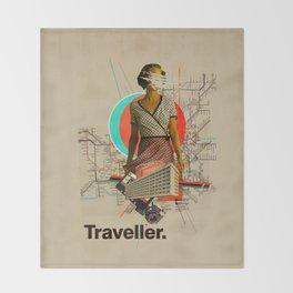 Traveller Throw Blanket