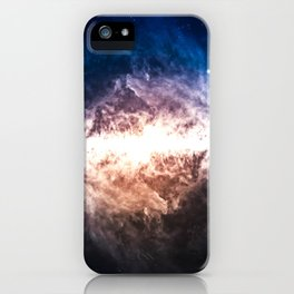 Star Field in Deep Space iPhone Case