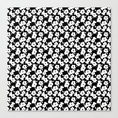 Mod Flower Canvas Print