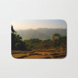 Nepalese valley  Bath Mat