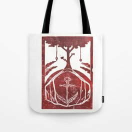 Grounding (White) Tote Bag