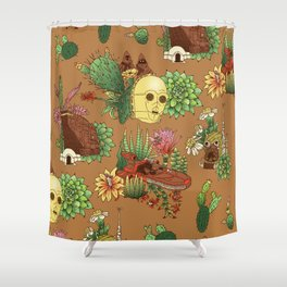 Serene Tatooine Shower Curtain