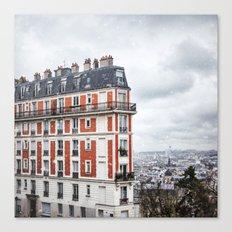 Paris Postcards. Canvas Print