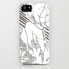 Love is a Ghost iPhone Case