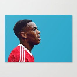 Anthony Martial - Manchester United Canvas Print