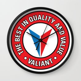 Valiant - Quality and Value Wall Clock